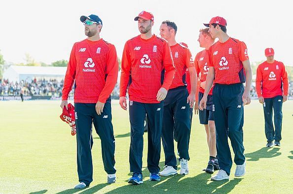 England steamrolled New Zealand in their first T20I in Christchurch.