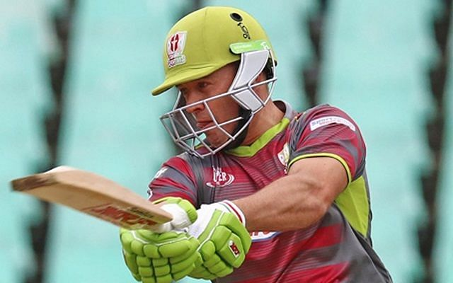 AB de Villiers scored his second fifty of the season for the Tshwane Spartans