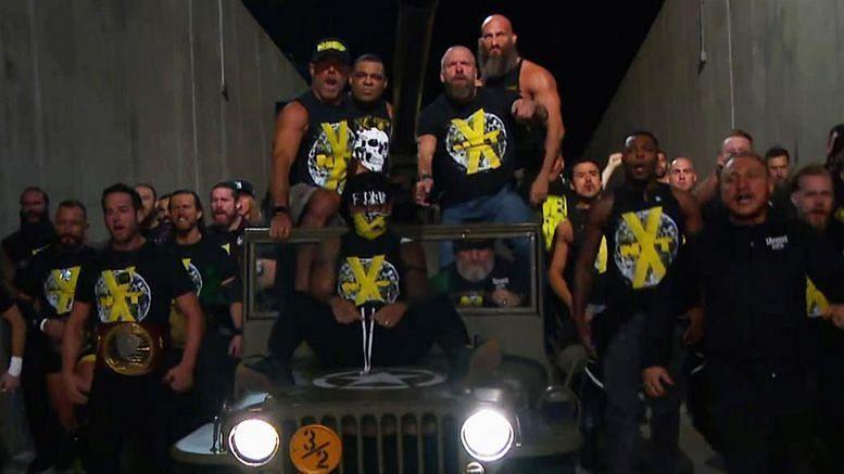 NXTसुपरस्टार्स,शॉन माइकल्स और ट्रिपल एच