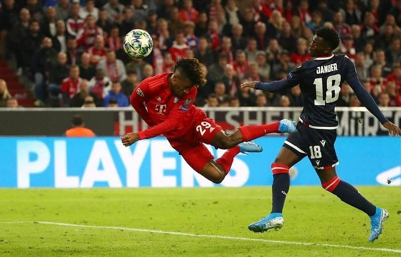 Bayern eased to a 3-0 home win over Crvena Zvezda earlier in the season