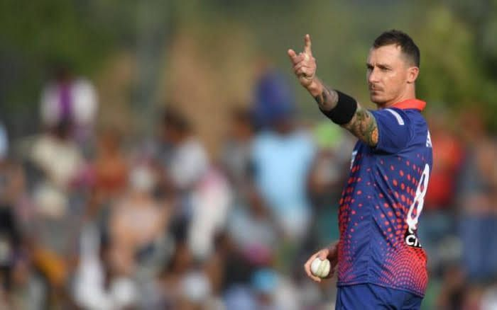 Dale Steyn is tied atop the wickets standing in the Mzansi Super League with 10 in 6 matches