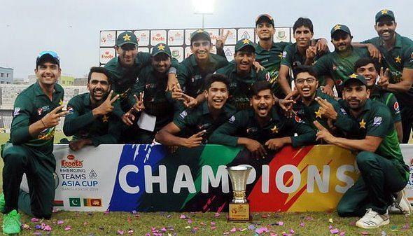 विजेता पाकिस्तान टीम (Photo: Asian Cricket Council)