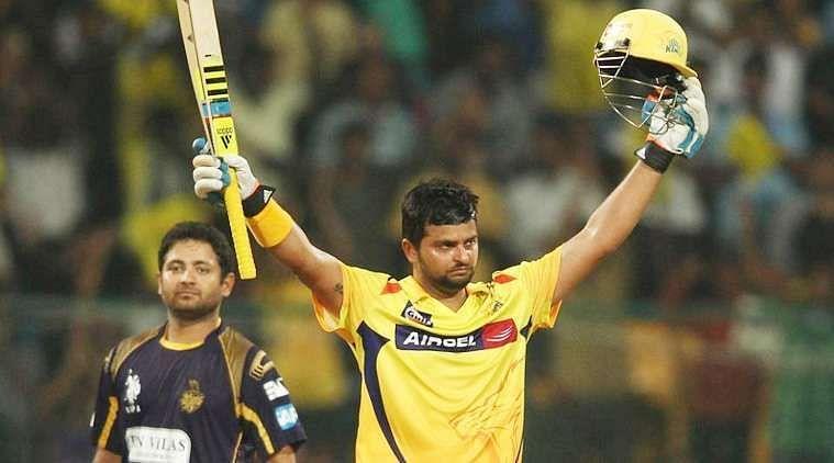 Suresh Raina has played for Chennai Super Kings and Gujarat Lions