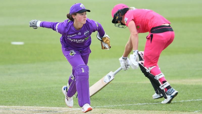 Emily Smith of Hobart Hurricanes