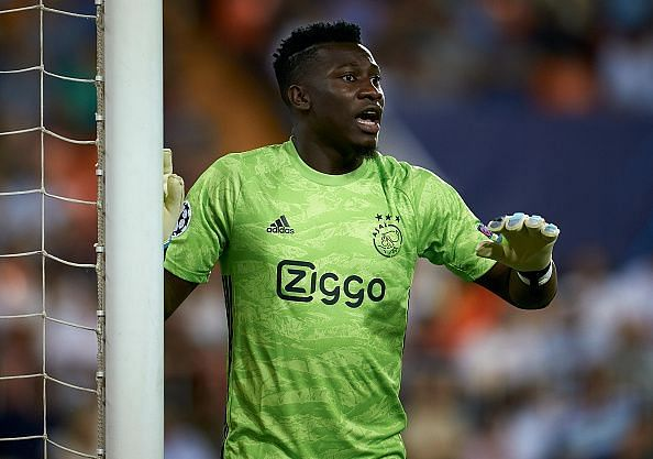 Onana helped Ajax reach the Champions League semi-final
