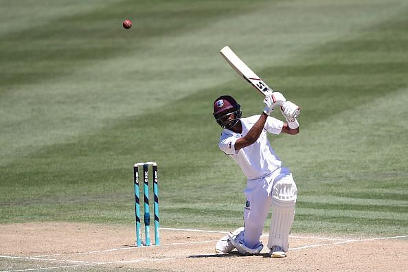 Roston Chase scored a fifty in the practice match