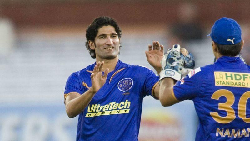 Sohail Tanvir bagged a spell of 6/14 in the inaugural edition against Chennai Super Kings.