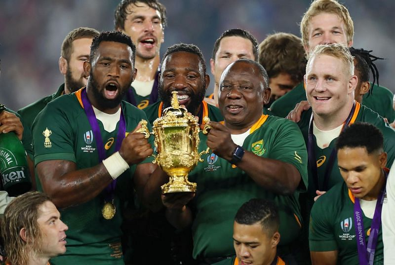 Rugby News South Africa Lift Rugby World Cup For The Third Time After Beating England
