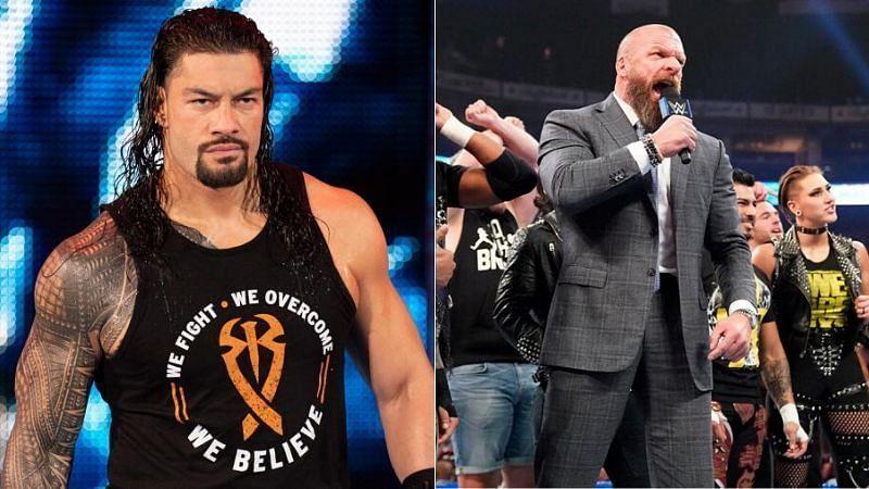 रोमन रेंस और NXT