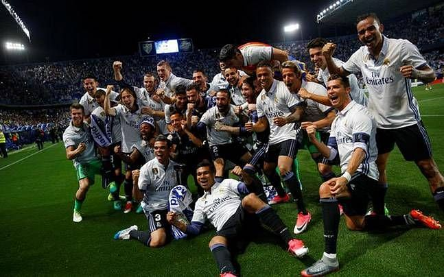 Could Madrid be celebrating their record-extending 34th Liga title in 2019-20