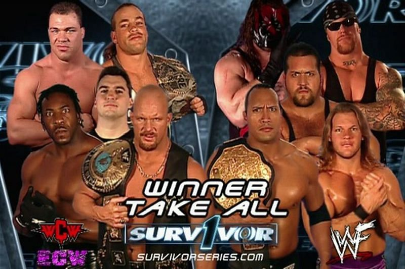 The Alliance vs. Team WWE