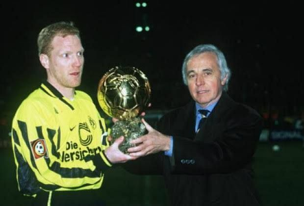 Sammer won the Ballon d