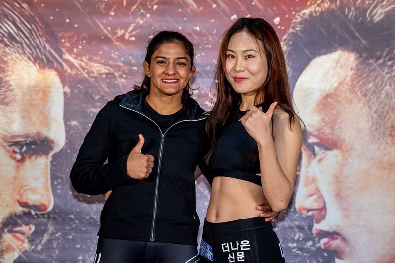 Ritu Phogat is all geared up for her first fight