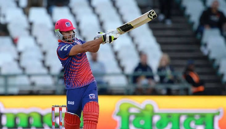 Janneman Malan is the top scorer for the Cape Town Blitz with 187 runs in 6 matches