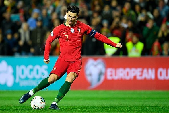 Ronaldo had a stellar international break, scoring four goals in two games.