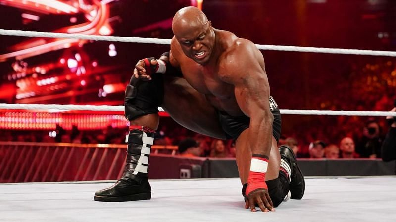 Lashley has spent some time in the MMA world