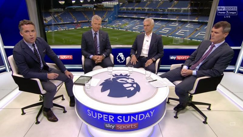 Jose Mourinho and Graeme Souness worked together as pundits for Sky Sports