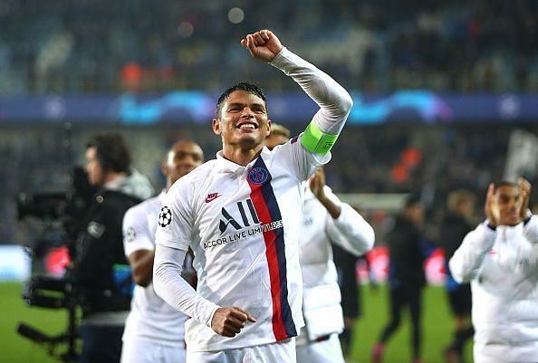 Thiago Silva is a conductor of the defensive line