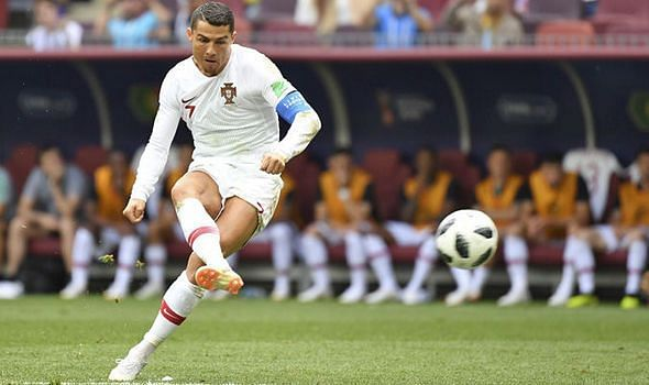 Cristiano Ronaldo is another contemporary dead-ball specialist