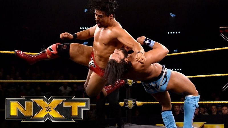 Angel Garza and Tony Nese put up an instant Cruiserweight Classic