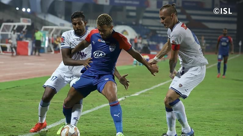 Raphael Augusto faced his former side for the first time. Photo Credits: indiansuperleague.com