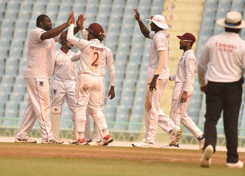 वेस्टइंडीज टीम का जबरदस्त प्रदर्शन जारी