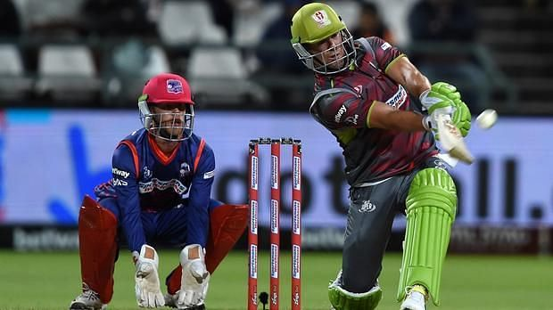 AB de Villiers continued his fine run of form for the Tshwane Spartans