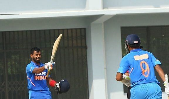 भारतीय टीम ने सेमीफाइनल में प्रवेश किया (Photo: Asian Cricket Council)