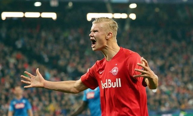 Erling Braut Haland scored in his fourth consecutive UEFA Champions League game.