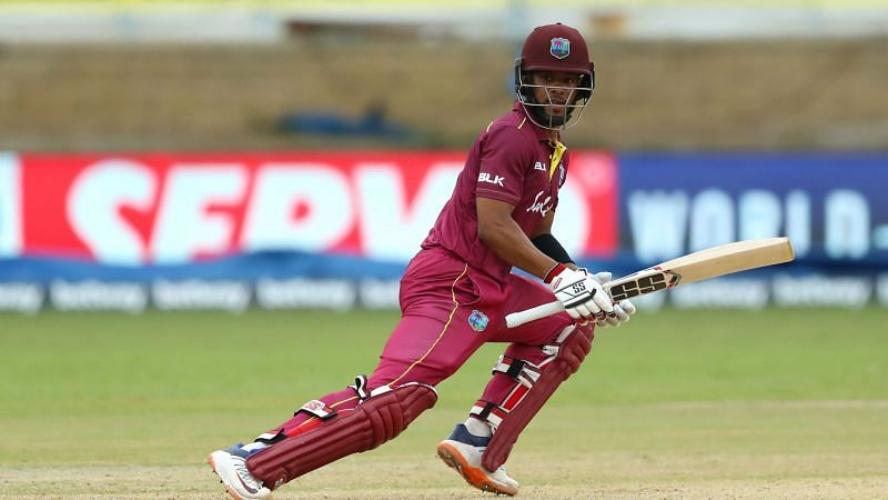 Shai Hope starred in West Indies
