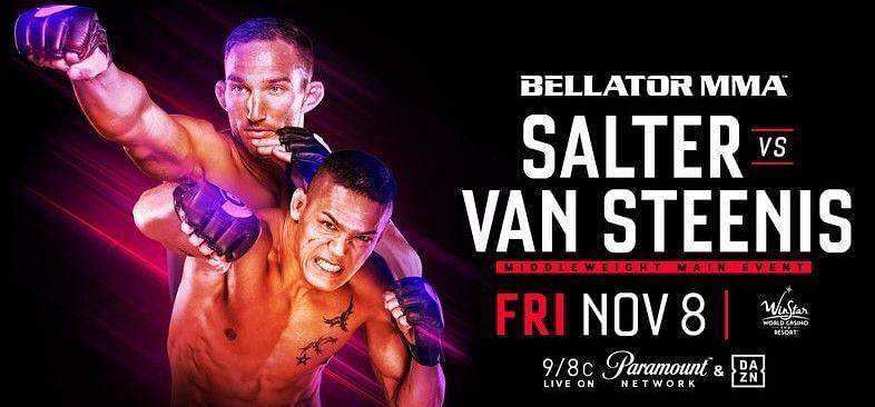 Bellator 233: Salter vs van Steenis