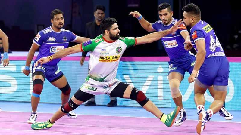Kuldeep Singh played at the left corner position for Haryana Steelers