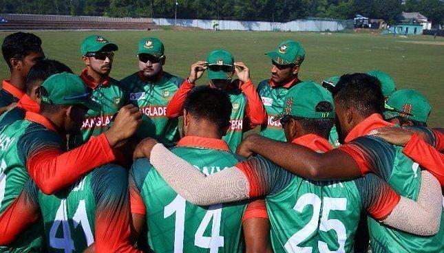बांग्लादेश ने दिया भारतीय टीम को झटका (Photo: Asian Cricket Council)