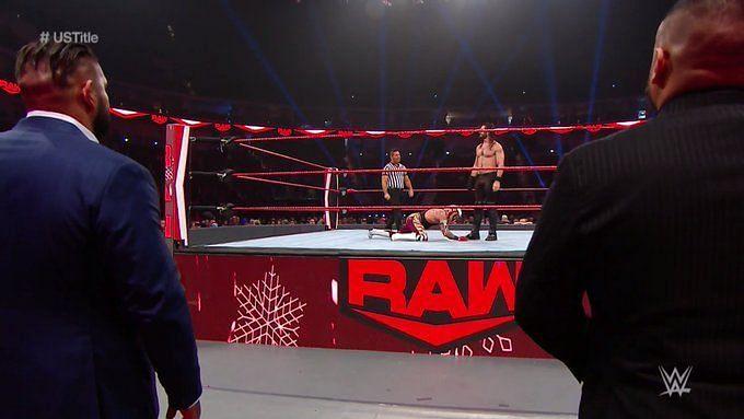 सैथ रॉलिंस और रे मिस्टीरियो के बीच हुआ यूएस चैंपियनशिप के लिए मैच