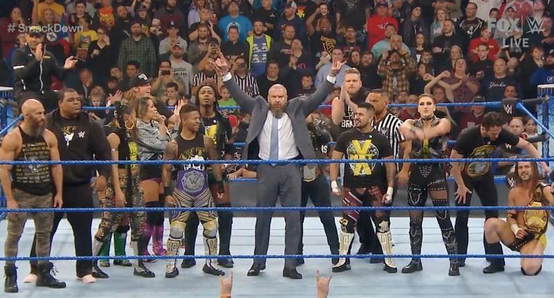 NXT रोस्टर