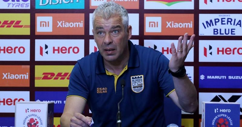 Jorge Costa laid down the law before Mumbai City FC