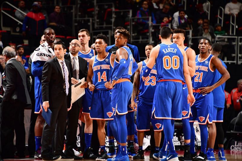The Knicks ended the 2018-19 season tying their worst record in franchise history at 17-65