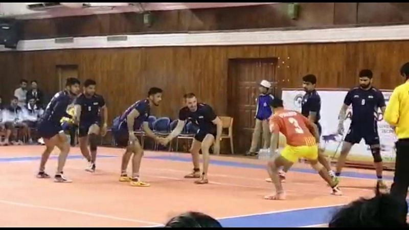 The Indian Kabaddi team registered their fourth consecutive win