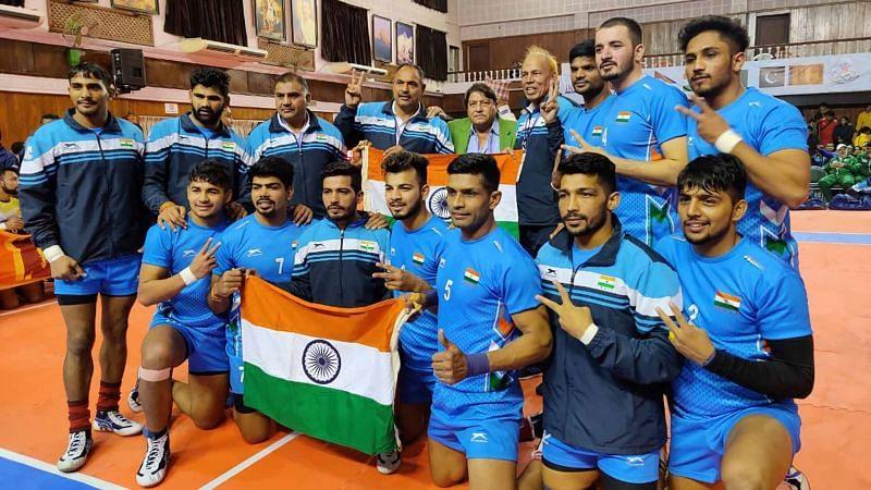 भारतीय पुरुष कबड्डी टीम ने गोल्ड मेडल जीता