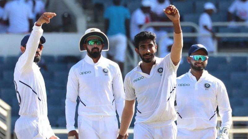 जसप्रीत बुमराह ने इस साल टेस्ट की एकमात्र हैट्रिक वेस्टइंडीज के खिलाफ ली