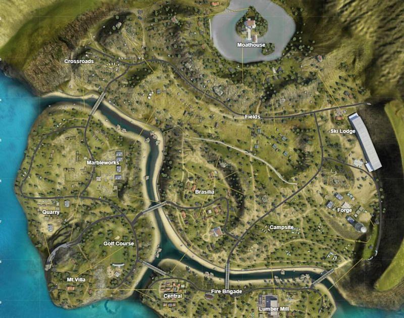 Purgatory map