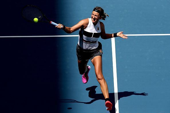 Victoria Azarenka held the number one position for 19 weeks