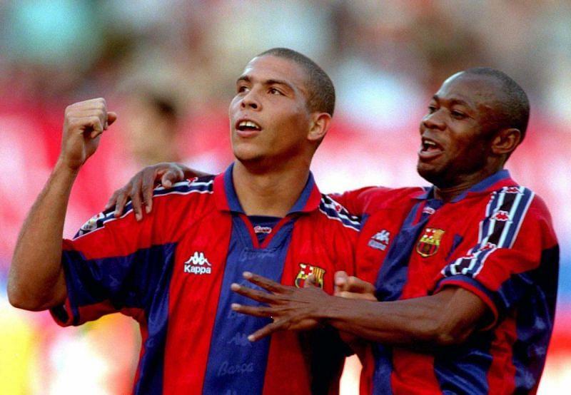 Emmanuel Amunike and Ronaldo