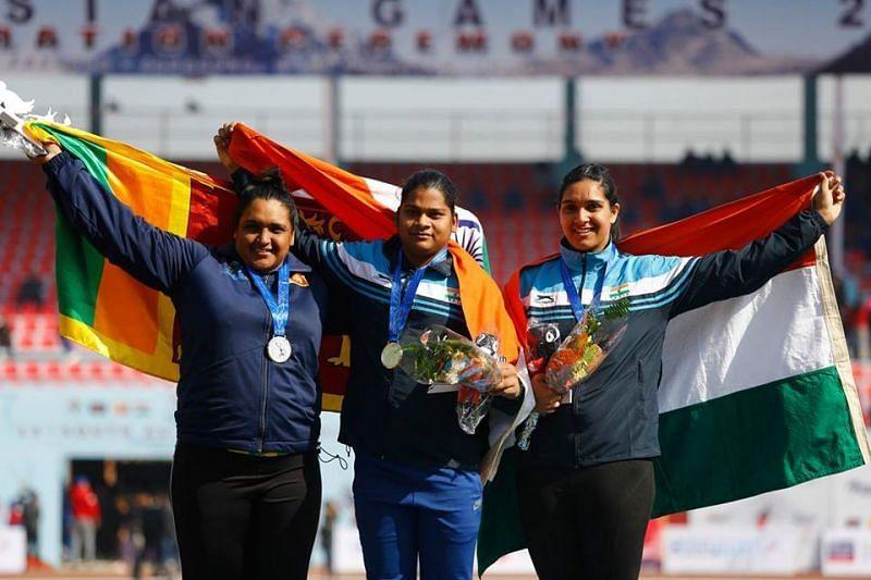 एथलेटिक्स में भारत को कई मेडल मिले