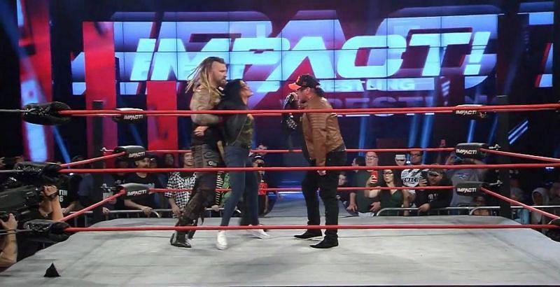 Sami Callihan is treating Tessa Blanchard like every man he