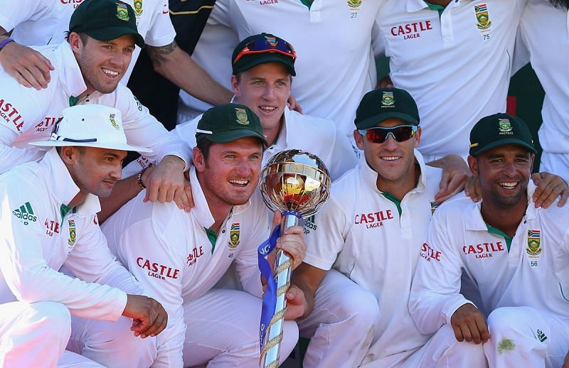South Africa dominated in Test cricket for majority of the decade, winning the Test mace in 2012