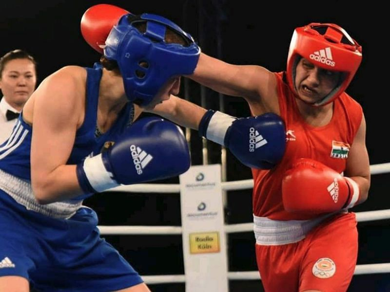 Pinki Rani (right) will be in contention of a Gold medal in the Women