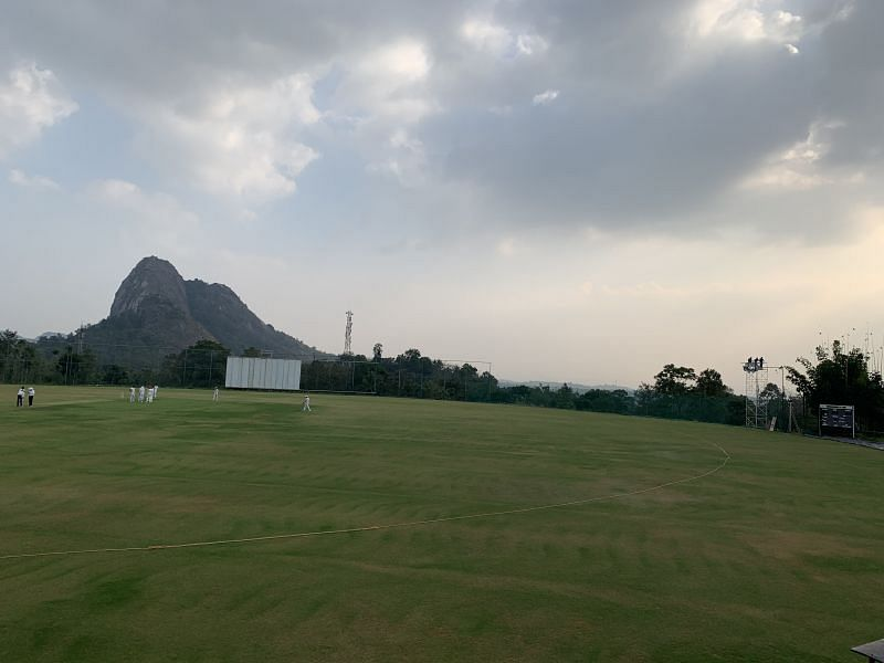 Krishnagiri Cricket Stadium in Wayanad