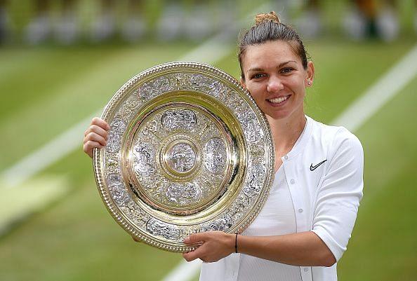Simona Halep is the reigning Wimbledon women