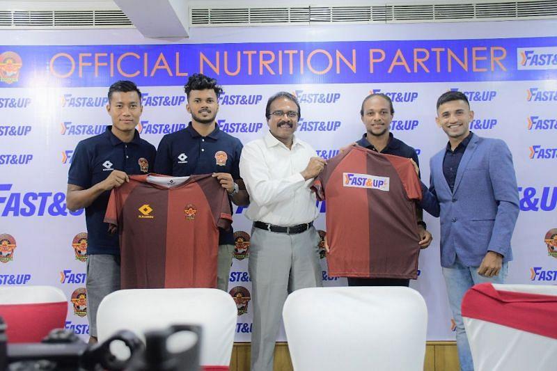 Fast&Up: Official Nutrition Partner of Gokulam FC